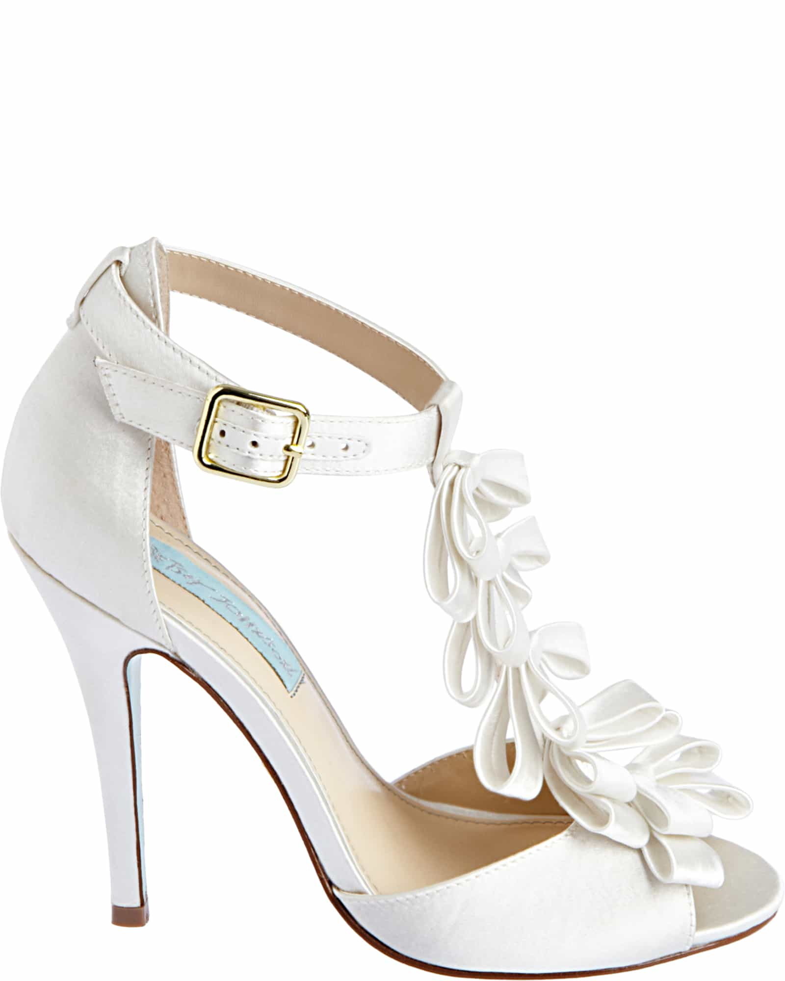 Betsey JohnsonSB-KNOT_IVORY-SATIN_SIDE