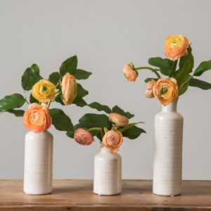 White vases from Magnolia Market