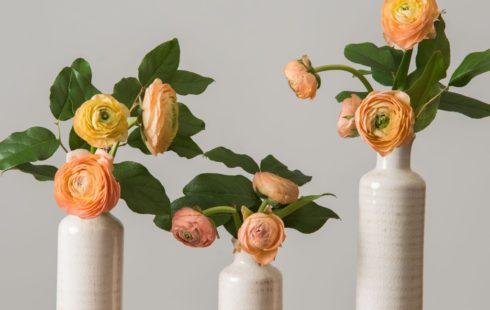 White vases from Magnolia Market